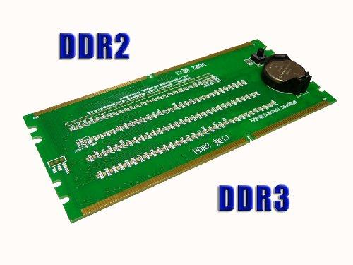 KALEA INFORMATIQUE Testkarte/Diagnosekarte für Speichersteckplätze (für DDR / DDR2 / DDR3)