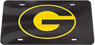 WinCraft Grambling Tigers Thick Plastic G Logo Crystal Mirror License Plate