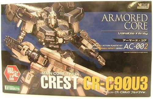 ArmGoldt Core Crest CR-C90U3 Blau Metal Ver. 1 72nd Scale Model Kit (japan import)