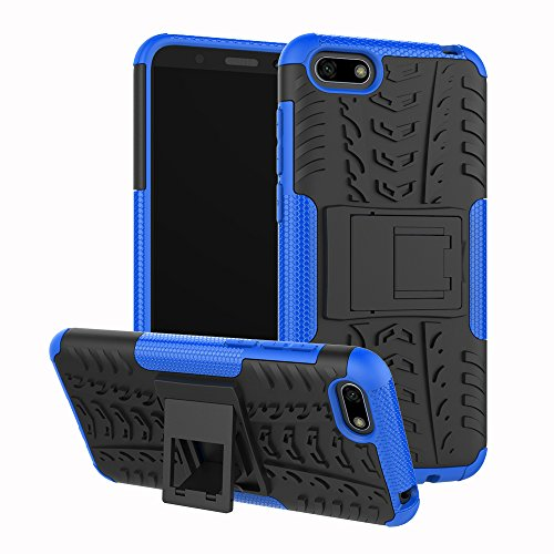 Huawei Y5 2018 / Y5 Prime 2018 / Honor 7S Handy Tasche, FoneExpert® Hülle Abdeckung Cover schutzhülle Tough Strong Rugged Shock Proof Heavy Duty Hülle Für Huawei Y5 2018 / Y5 Prime 2018 / Honor 7S