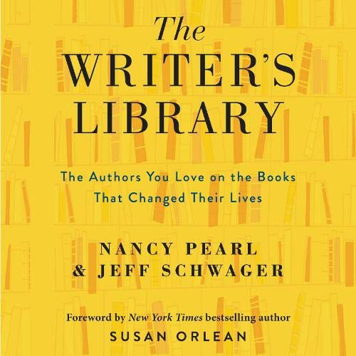 The Writer's Library Audiobook By Nancy Pearl, Jeff Schwager cover art