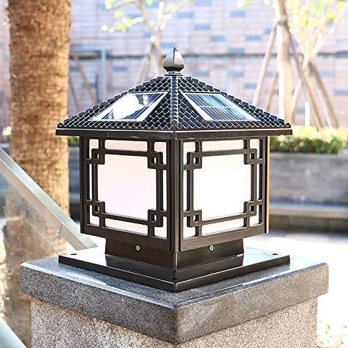 Lamparas Solares Para Jardín Japonesas Marca Dkdnjsk