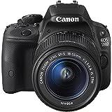 Canon EOS 100D Appareil Photo Reflex numérique (EF-S 18-55 mm f/3.5-5.6 is STM, 18 MP, capteur CMOS) LCD 7,6 cm