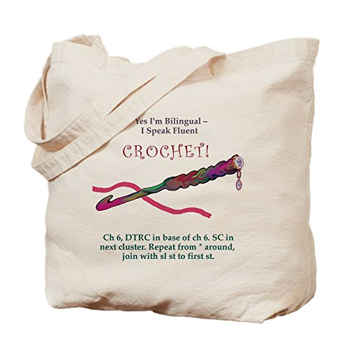 Cafe Press Crochet Fun Canvas Tote Bag