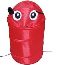 Cute Animal Big Capacity Waterproof Storage Bucket Laundry Basket Folding Cylinder Toy Dirty Clothes Box Organizer