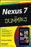 Nexus 7 For Dummies (Google Tablet) (English Edition)