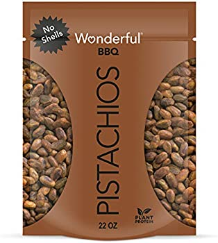 Wonderful No Shells, Barbeque Flavored Nuts Pistachios 22 oz.