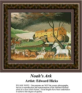 Noah's Ark Fine Art Counted Cross Stitch Pattern (Pattern Only, You Provide the Floss and Fabric)