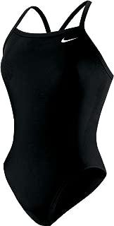 Nike Swim Nylon Core Solids Competitive Athletic Swim Suit Royal Blue