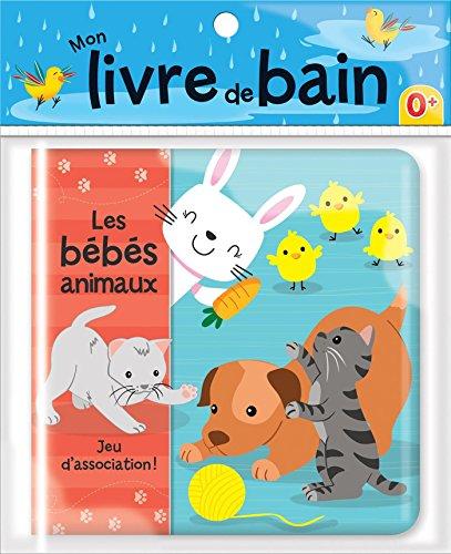 Les bébés animaux - Mon livre de bain