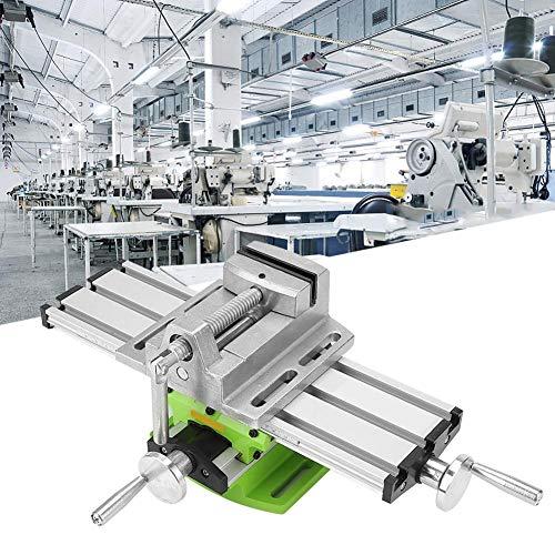 """Mini Fräsmaschine Arbeitstisch Schraubstock Tragbare Verbundbank X-Y 2 Achsen Einstellbare Kreuzschlitten Tisch für Tischbohrmaschine (310mm 90mm) 12,2 zoll-3,54\"""""""