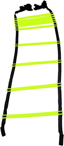 GSI Speed Agility Ladder Track and Field Equipment for Sports Training and Soccer Football Tennis Baseball Drills (10...