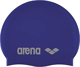 Arena Silicone Unisex Swim Cap for Women and Men, Prints and Solids