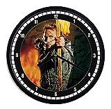 Orologio da parete in plastica Robin Hood - kevin costne