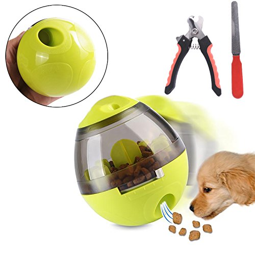 Interactive Pet Toy Pet Food Ball - Fun and Interactive Food Dispenser...