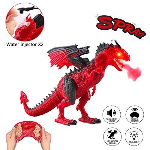 deAO RC Dragón Inteligente Robot Teledirigido con Luces,...