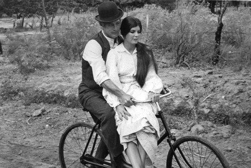 Butch Cassidy Sundance Kid Paul Newman Poster Fahrrad