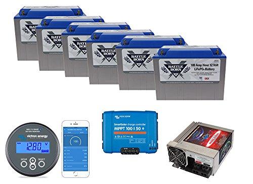 Battle Born Batteries Less Junk More Journey 600ah Lithium Power Bundle