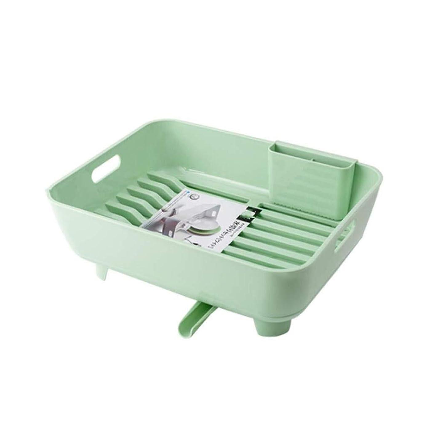 苦ニコチンスキム多機能性プラスチックシンクドレインラック、キッチン収納ボックス、360°出口、店舗箸に用い、39.3x31x13.3cm