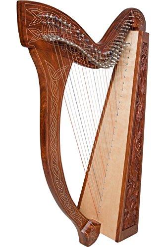 Minstrel Harp TM, 29 Strings, Vine