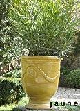 Terracotta Vase Blumenkübel original Vases d'Anduze aus Südfrankreich