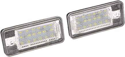 18 unidades Juego de bombillas LED para matr/ícula de coche 2 unidades Alftek