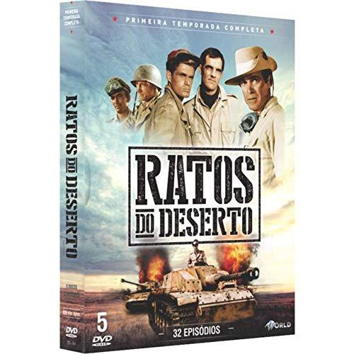 Ratos do Deserto 1ª Temporada Completa Digibook 5 Discos