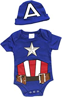 captain america onesie boys