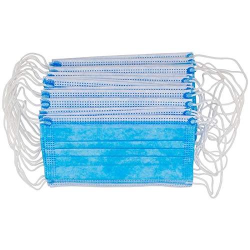 1000x Mund-Nase-Schutz 3-lagig OP-Mundschutz Gesichtsmaske Atemschutz