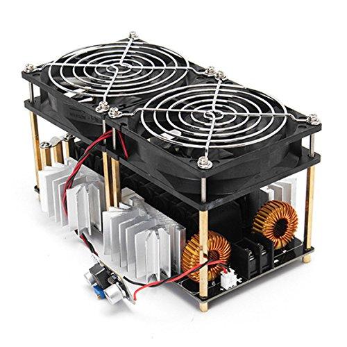 Kuinayouyi 1800W ZVS Modulo de placa de calentamiento por induccion Calentador de conductor flyback + Bobina + Ventilador