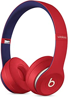 Beats Solo3 Wireless On-Ear Headphones - Apple W1 Headphone Chip, Class 1 Bluetooth, 40 Hours Of Listening Time - Club Red...