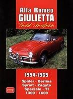 Alfa Romeo Giulietta Gold Portfolio 1954-1965 by R.M. Clarke(2006-01-22)