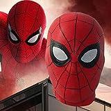 Ani·Lnc Spider-Man: Far from Home Maske Kopfbedeckung Schwarze Maske Shadow Sneak Battle Anzug...