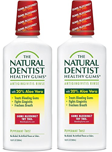Natural Dentist Healthy Gums Antigingivitis Rinse, Peppermint, 16.89 Ounce -  PR-COM-RT-X985894