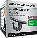 Rameder Attelage démontable avec Outil pour Mercedes-Benz Classe M + Faisceau 7...