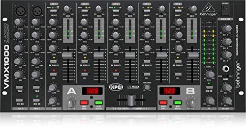 Behringer VMX1000USB Pro Mixer 7-kanaals DJ Mixer