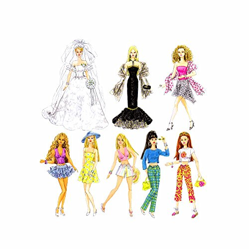 Simplicity 11 1/2 Cartamodelli per Vestiti da Bambina, Unica Misura