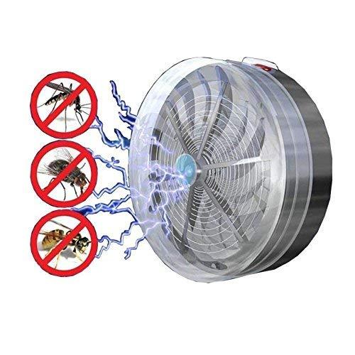 L@LILI 6 PCs d'été Solaire alimenté Moustique Killer Lampes Buzz UV Lampe Chambre à Coucher Mouche Insecte Bug Moustique Tuer Zapper Killer intérieur extérieur