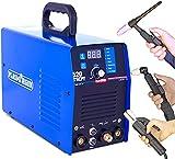 SUSEMSE TIG/WIG Schweißgerät/MMA Schweißgerät/Plasmaschneider Plasmacutter 3 in 1 Kombi-Multifunktion mit Digitales Anzeigendisplay - Pulsfunktion - Fußpedalsteuerung - 520TSCPF