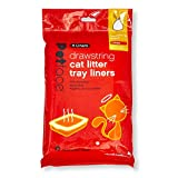 Petface Cat Litter Tray Drawstring Liners, 8 Large Liners