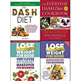 Very clever gut, everyday dash diet cookbook and blood sugar diet for beginners 4 books collection set