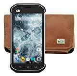 MTT Horizontal Leather Phone Case with Belt Clip and Safety