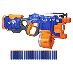 powerful Nerf N-Strike Hyper Fire Blaster (Amazon only)