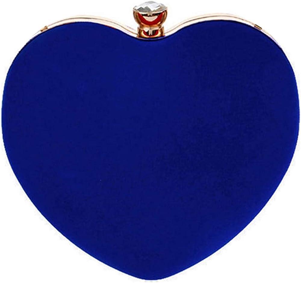 35% OFF Mily Heart Shape Clutch Bag Tote Even Messenger Handbag Max 72% OFF Shoulder