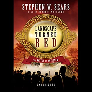 Landscape Turned Red audiobook cover art