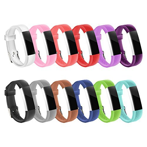 Gymu Fitbit Ace Bands,Fitbit Alta HR Bands,Fitbit Alta Bands, Replacement Wristbands with Secure Metal Buckle Clasp for Fitbit Ace Alta HR Fitness Tracker