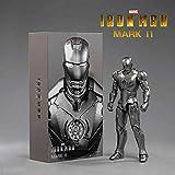 FIGLot ZD Toys Iron Man Mark 2 Mark II 7' Action Figure