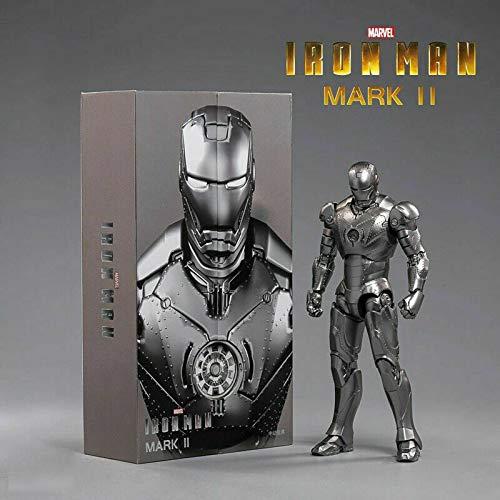 "FIGLot ZD Toys Iron Man Mark 2 Mark II 7"" Action Figure"