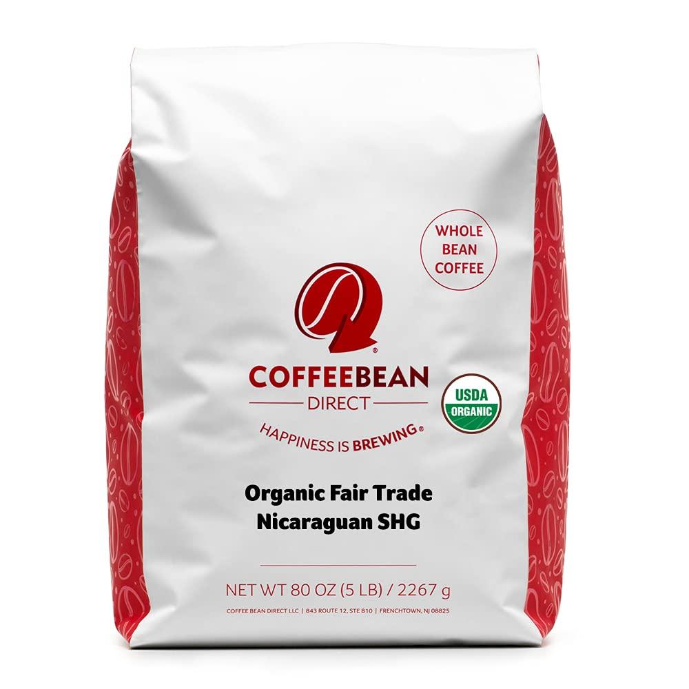 Coffee Bean Direct shopping Organic Fair SHG National uniform free shipping Nicaraguan Trade Whole