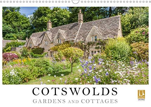 Cotswolds Gardens and Cottages (Wall Calendar 2020 DIN A3 Landscape)